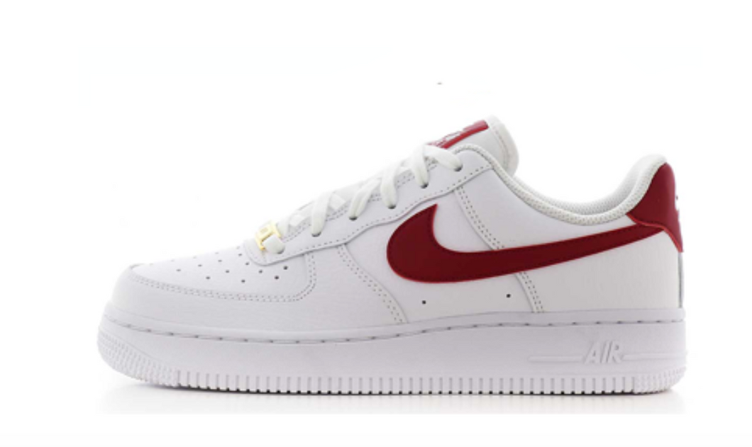 NIKE AIR FORCE 1 LOW NOBLE RED