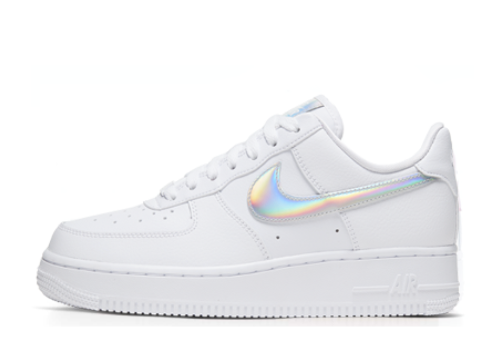 NIKE AIR FORCE 1 LOW WHITE IRIDESCENT