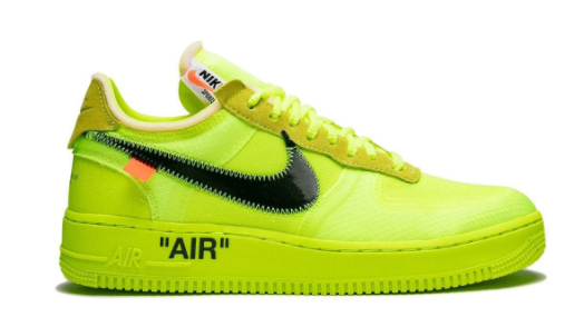 NIKE X OFF WHITE AIR FORCE THE TEN