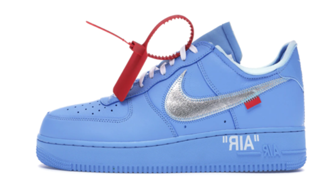NIKE X OFF WHITE AIR FORCE BLUE
