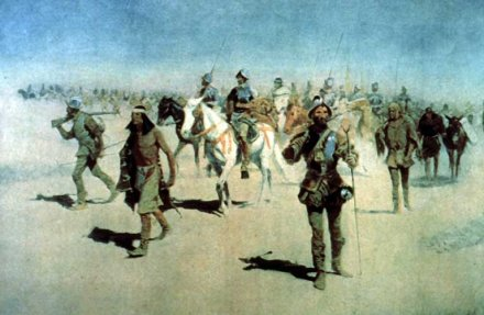 coronado sets out to the north frederic remington 1861-1909