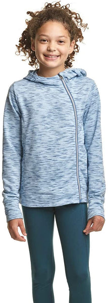 C9 Champion Girls' Fleece Asymmetrical Jacket - jackets247.com
