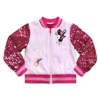 Disney Minnie Mouse Varsity Jacket for Girls - jackets247.com