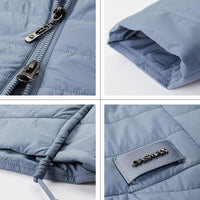 GASMAN 2021 New Women's spring jacket Autumn Women Coat Long parka big size Fashion women's jackets female Thin Cotton 81858 - jackets247.com