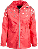 Limited Too Girls' Jacket – Waterproof Anorak Windbreaker Raincoat with Hood - jackets247.com