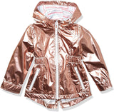 LONDON FOG girls Lightweight Mesh Lined Anorak Jacket - jackets247.com