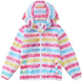 M2C Girls Boys Hooded Lightweight Printed Windbreaker Jacket - jackets247.com