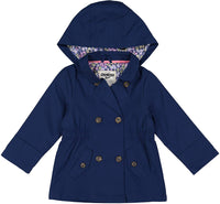 OshKosh B'Gosh girls Hooded Trench Coat - jackets247.com