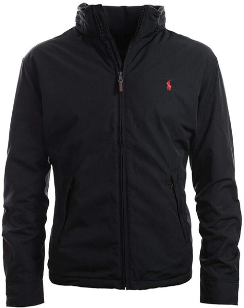 Polo Ralph Lauren Men's Full Zip Perry Jacket, Black - jackets247.com
