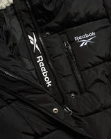 Reebok Girls' Winter Jacket - Stadium Length Quilted Bubble Puffer Coat with Sherpa Hood - jackets247.com