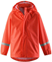 Reima Vesi Kids Waterproof Hooded Rain Jacket Lightweight Windproof Outdoor Coat for Kids - jackets247.com