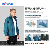 Running Rain Jackets Breathable Lightweight Waterproof Cycling Jackets Long Sleeve Men Windproof Outdoor Sports Raincoat - jackets247.com