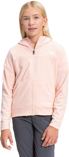The North Face Girls' Glacier Full Zip Hooded Sweatshirt - jackets247.com