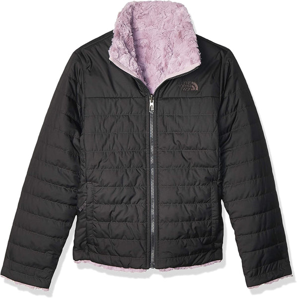 The North Face Girls' Reversible Mossbud Swirl Jacket - jackets247.com