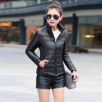 Women Winter Jacket Warm Cotton Padded Parkas Spring Autumn Female Slim Coats Fashion Student Coats Jackets Big Promotion - jackets247.com