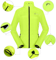 Women's Packable Windbreaker Jacket Resistant Convertible Cycling Running Jacket Lightweight Windproof Water - mwjackets