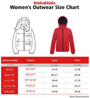 Women's Water-Resistant Heavy Padded Quilted Puffer Jacket Winter Parka Anorak Coat - mwjackets
