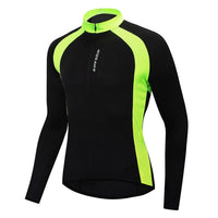 WOSAWE Men Breahable Cycling Windbreaker MTB Road Bike Clothing Maillot Ciclismo Sports Racing Tops Riding Jacket Back pocket - jackets247.com
