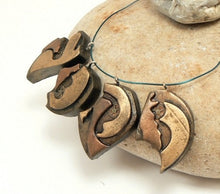 Load image into Gallery viewer, Post Apocalyptic Charms Rustic Faux Antique Brass Copper Clockwork