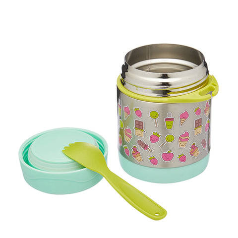 Braised beaker Kid Stainless Vacuum Insulated Food Jar Container Funtainer 300ml