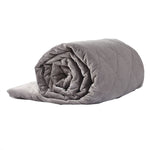 DreamZ 11KG Adults Size Anti Anxiety Weighted Blanket Gravity Blankets Grey