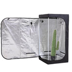 Garden Hydroponics Grow Room Tent Reflective Aluminum Oxford Cloth 75x75x160cm