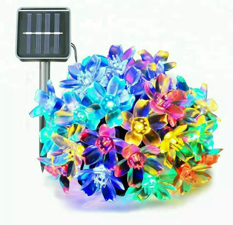Solar Floral String Light Multicolour