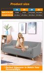 DreamZ Couch Stretch Sofa Lounge Cover Protector Slipcover 4 Seater Grey