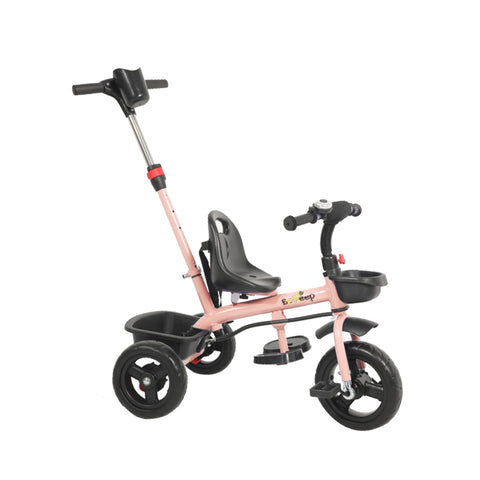 BoPeep Baby Walker Kids Tricycle Ride On Trike Toddler Balance Bicycle Pink
