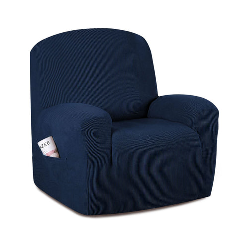 Sofa Cover Recliner Chair Covers Protector Slipcover Stretch Coach Lounge Navy