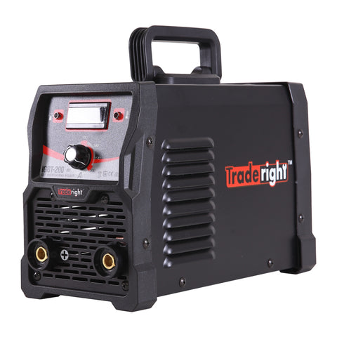 Traderight 200Amp DC iGBT Inverter MMA Welding Machine Stick Portable 15A Plug
