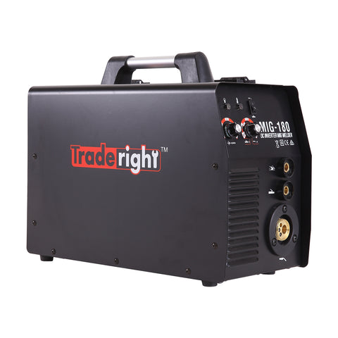 Traderight 180Amp Welder MIG ARC MAG Welding Machine Gas / Gasless Portable