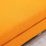 DreamZ Couch Sofa Seat Covers Stretch Protectors Slipcovers 2 Seater Orange