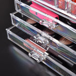 Cosmetic 7 Drawer Makeup Organizer Storage Jewellery Holder Box Acrylic Display