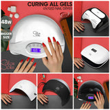 Salon Chic LED UV Nail Lamp Gel Polish Dryer Manicure Curing Smart Sensor Light