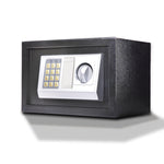 16L Electronic Safe Digital Security Box Home Office Cash Deposit Password
