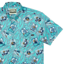"Load image into Gallery viewer, The Office ""Loser Works Saturday"" Button Down Shirt"