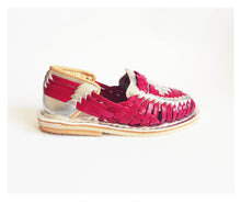 Load image into Gallery viewer, Silver and pink kids shoes