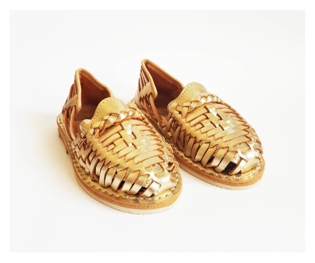 Golden shoes for Kids
