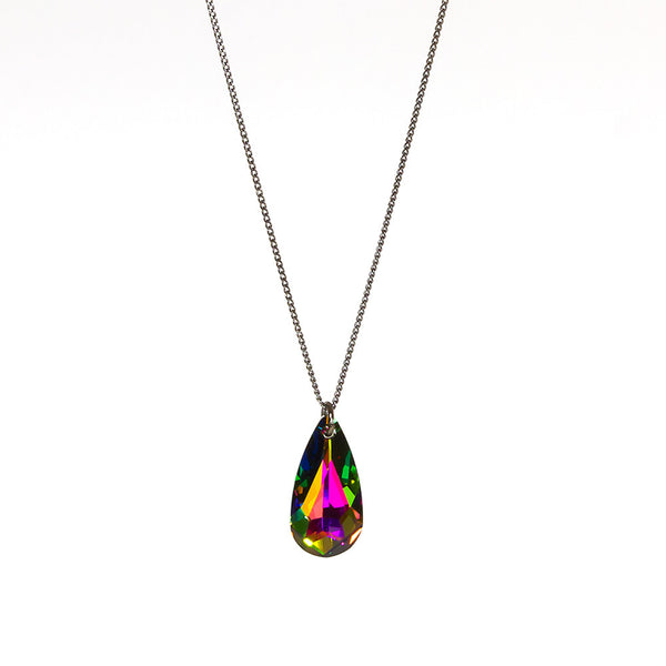 Kaleidoscope Teardrop Necklace