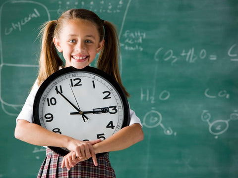 Learn to read a wall clock