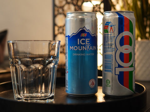 Soft drinks and Water