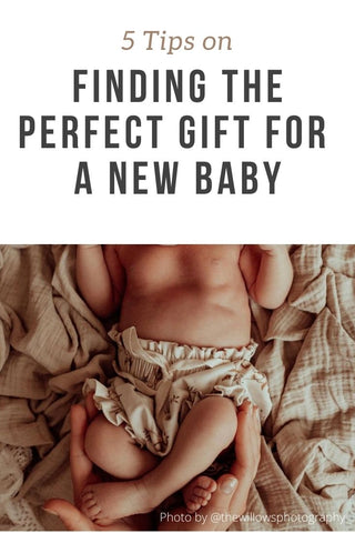 5 Tips on Finding the Perfect Gift for a New Baby
