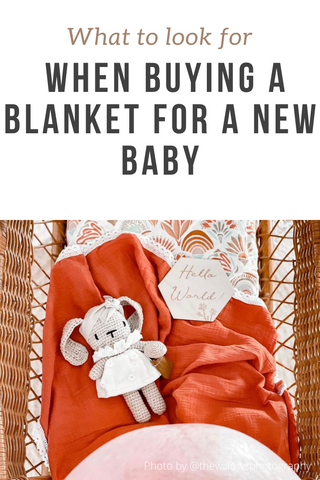 What to look for when buying a blanket for a new baby