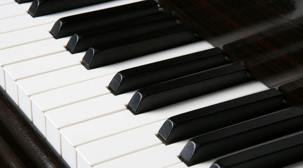 ebony piano keys