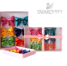 Load image into Gallery viewer, Large Swarovski Crystal Bows