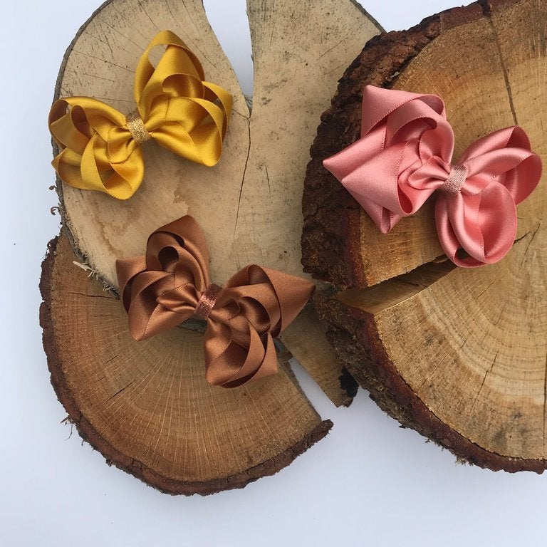 Double Satin Bows