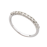 Half Claw Eternity Ring