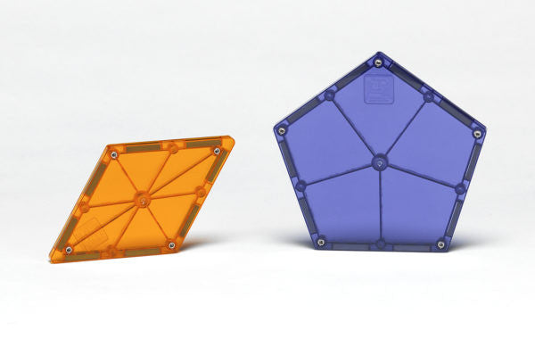 Magna-Tiles Polygons 8 Piece Expansion Set