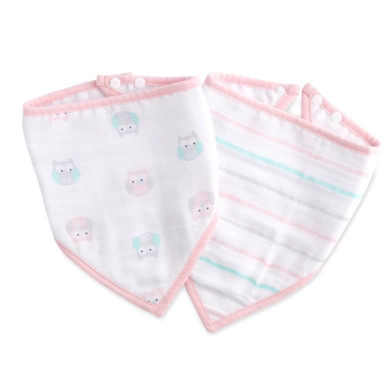 Ideal Baby Bandana Bibs - Set of 2